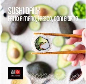 Sushi Daily. Fatto a mano, fresco, ogni giorno