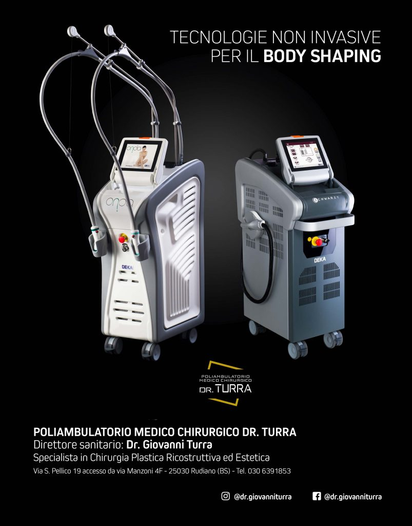 Tecnologie non invasive per il BODY SHAPING - Dr. Turra